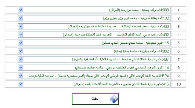 التسجيلات الجامعية الاولية 2011 للناجحين في شهادة البكالوريا 12789491372