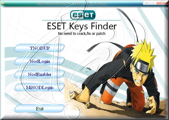 ESET Keys Finder 7.5 AIO - Утилита для поиска ключей к Антивирусу ESET
